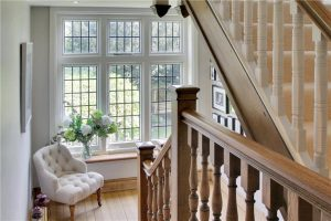 Staircase and window fitting home renovation