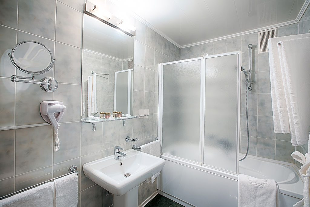 Modernised bathroom