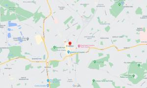 Croydon map