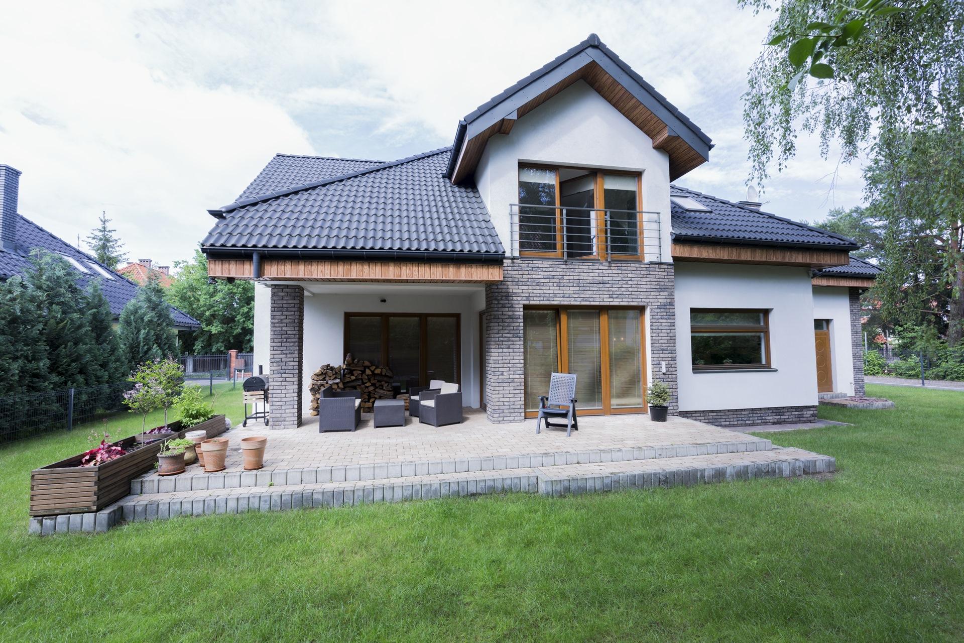 Home extension exterior